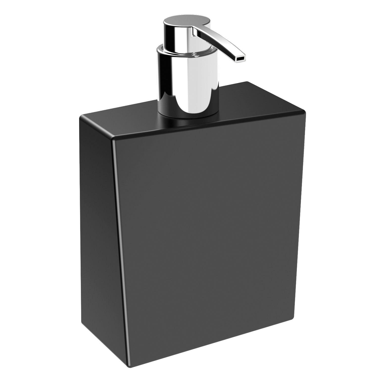bathman-dispenser-sapone-liquido-in-ceramica-di-colore-nero