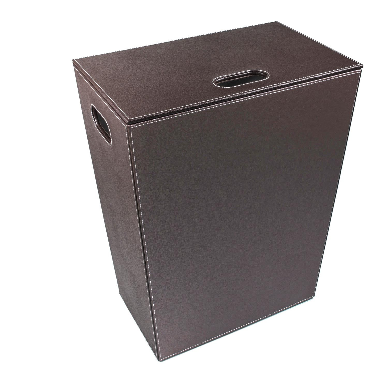 cesto-porta-biancheria-ecopelle-grande-marrone-scuro
