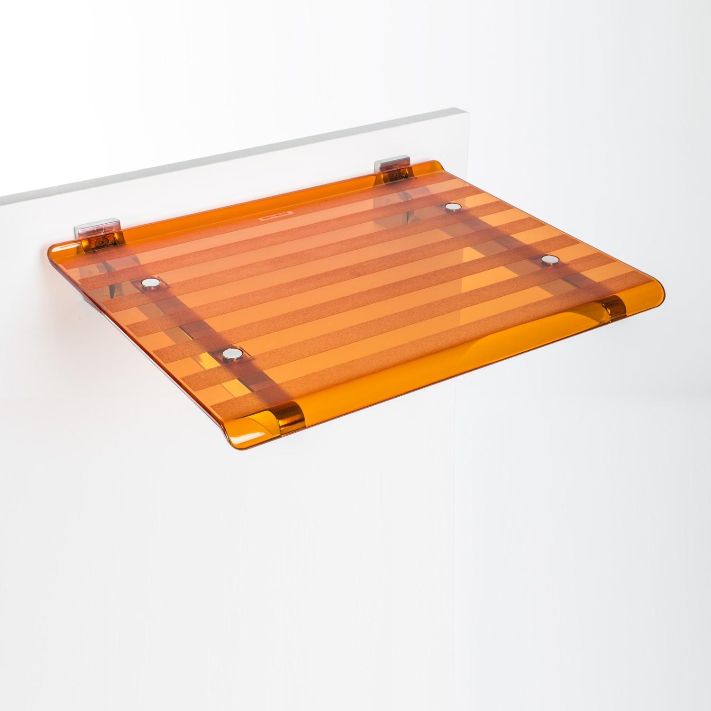 sedile-doccia-ribaltabile-leo-arancio-trasparente