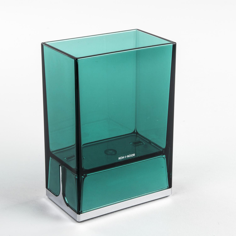 bicchieri-porta-spazzolini-da-denti-da-appoggio-lem-verde-trasparente