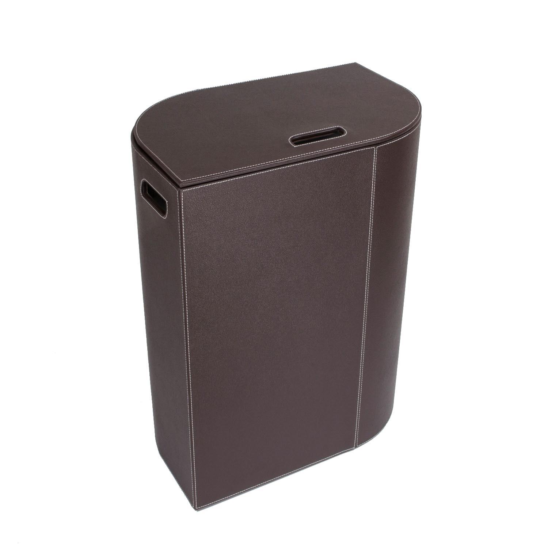 cesto-porta-biancheria-vela-misura-unica-colore-marrone-scuro