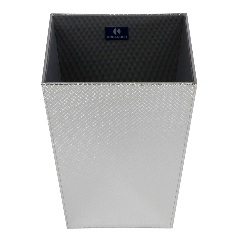 gettacarta-in-ecopelle-cm23x23xh30-colore-argento