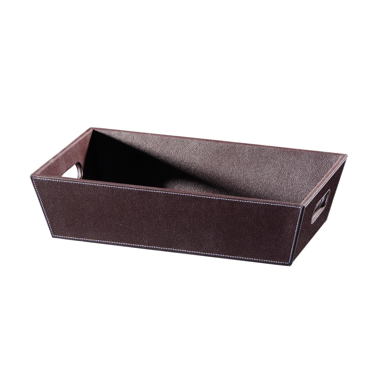 vaschetta-porta-oggetti-ecopelle-marrone-scuro