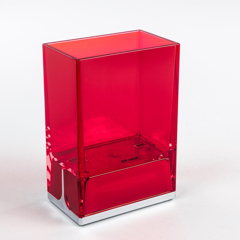bicchieri-porta-spazzolini-da-denti-da-appoggio-lem-rosso-trasparente