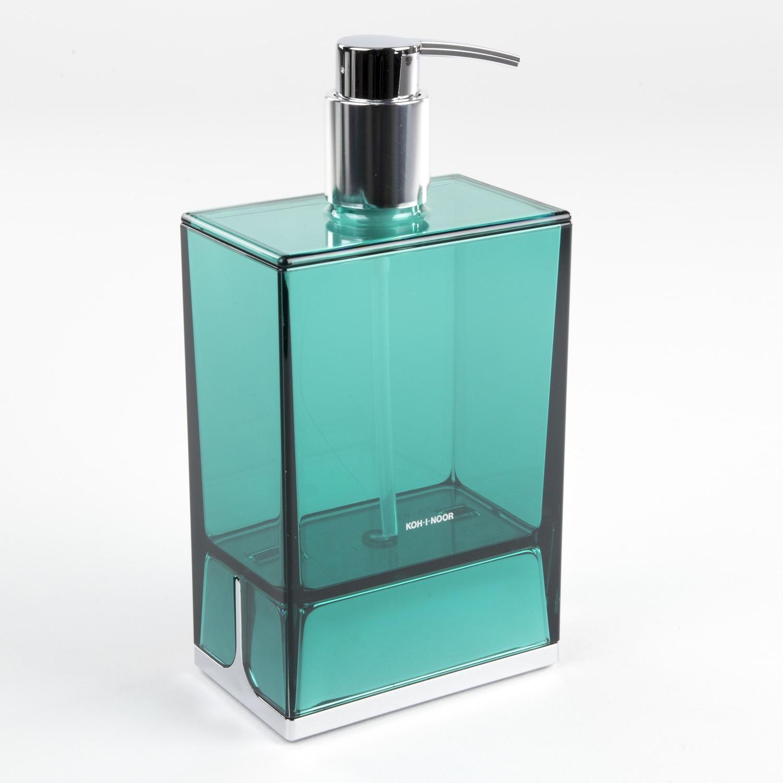 dispenser-sapone-da-appoggio-lem-verde-trasparente