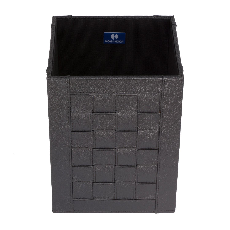 gettacarta-quadrato-intrecci-colore-nero